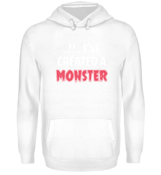 Eltern Kind Partnerlook Monster Pullover