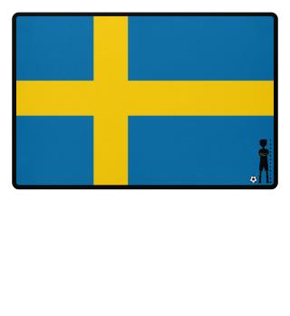 fussballkind - Fussmatte Schweden