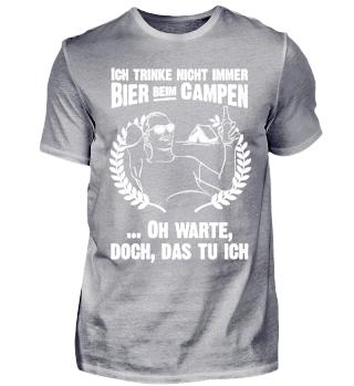 Camper Camping Wohnwagen Wohnmobil Bier