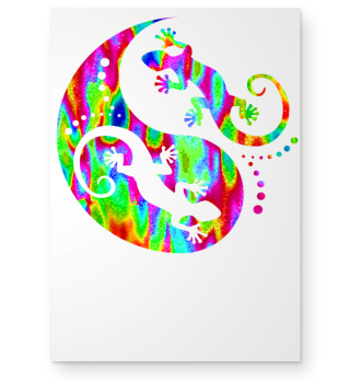 ♥ Yin Yang Geckos - Free Colored