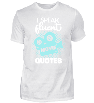 Fluent Movie Quotes Cinema TV DVD Series Geek Nerd Cool Funny quote Gift