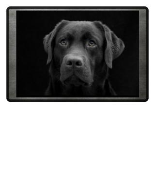 Fußmatte Labrador