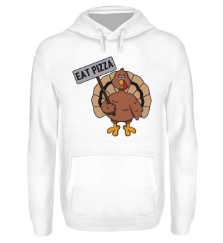 Happy Thanksgiving Turkey Eat Pizza Gift