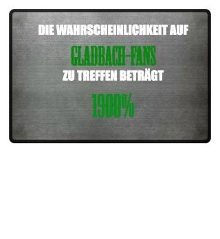 Gladbach Fans Fußmatte