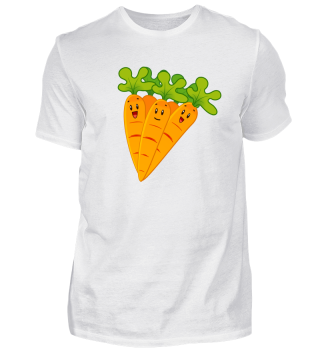 Happy Carrots - Kids Motive - Gift idea