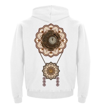★ Vintage Steampunk Travel Mandala 3
