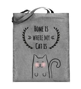 Katze/Katzen - Home is where my cat is