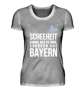 Scheeheit kimmd ned vo Inna,..Bayern