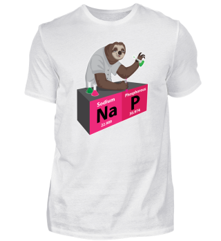 Nap Faultier Element Periodensystem