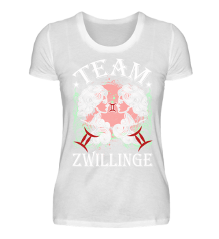 Sternzeichen Team Zwillinge
