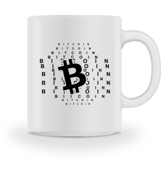 GIFT- BITCOIN CRYPTO CURRENCY BLACK