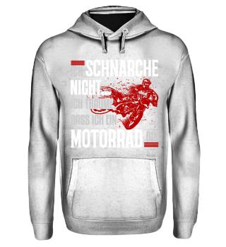 Motocross schnarche - T-Shirt