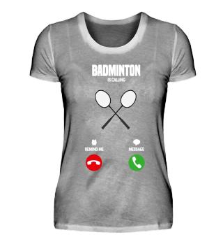 Badminton is calling! gift