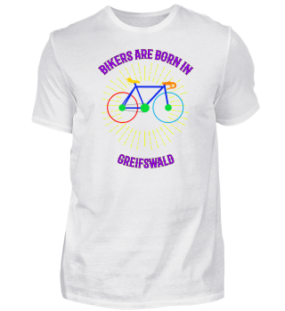 Greifswald Fahrrad Shirt Geschenk
