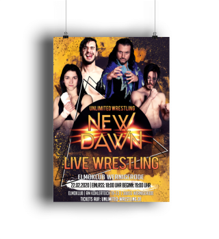 Unlimited New Dawn 2020 Poster