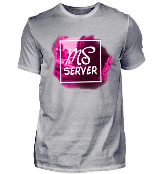 MineSucht Modern Logo T-Shirt