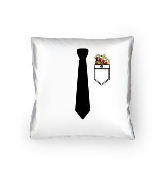 Anzug mit Krawatte für JGA Krone
