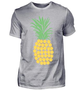 Softball Ananas Pineapple Sport Geschenk