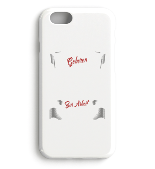 Geboren IPhone Case