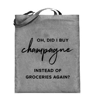 Champagne Jutebeutel
