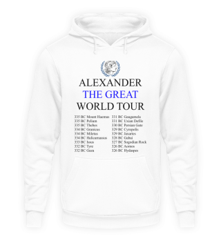 Alexander World Tour