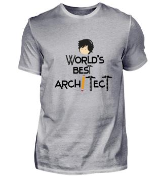 Weltbester Architekt! Geschenk Idee Job