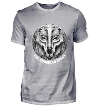 ☛ SCHUTZGEIST · WOLF · KREIS · GRUNGE #6W