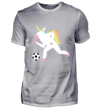 Perfekt für Einhorn und Fußball Fans