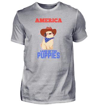 Dog America USA Puppy Gift