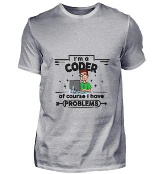 D001-0329B Proud Coder Programmierer - w