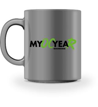 MyOCyeaR Tasse weiß Logo