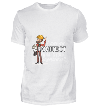 D001-0106A Proud Architect Architekt - W