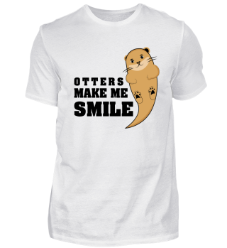 Otters make me smile.