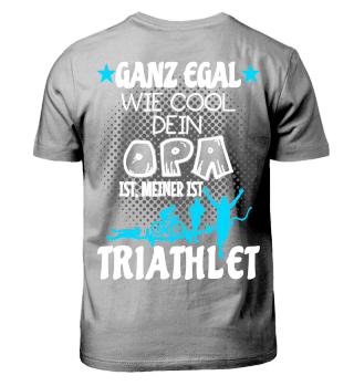 Triathlon Kinder - Opa Triathlet