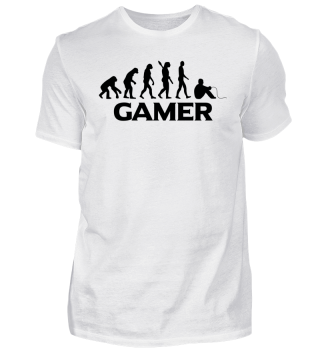 Gamer Gaming Shirt Evolution