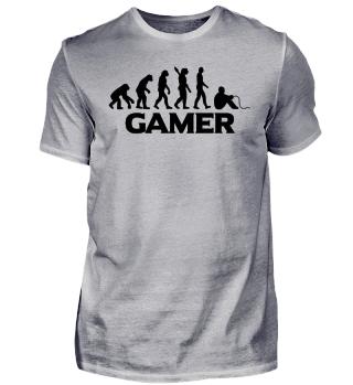 Gamer Gaming Shirt Evolution