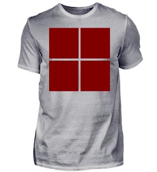 weinrotes Design Trikot Idee Logo
