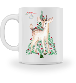 ♥ MERRY CHRISTMAS · DEER #6BT