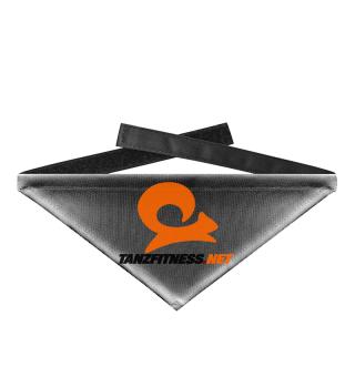 TanzfitnessNET Logo Hundehalstuch