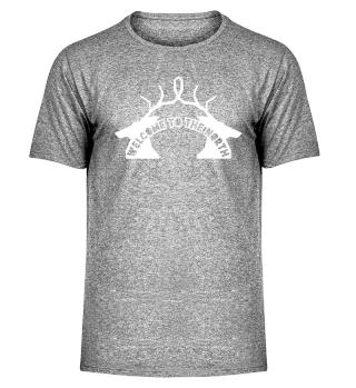 Skandinavien Rentier Elch Geweih Norden Shirt Geschenk Idee