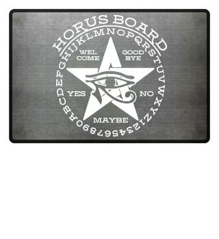 ★ Mystical Pentagram Horus Board - white