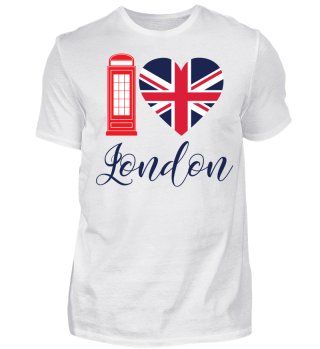 I Love London - Herz - Heart - Geschenkidee - Gift Idea - Great Britain - England - Sight Seeing City Trip - Städtereise - Auslandsjahr - Au Pair - Reiselust - Tourist - Tourismus - Skyline - Big Ben - Kensington Palace - Buckingham Palace, London Eye