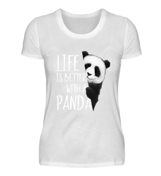 Life Is Better With A Panda Cute Gift