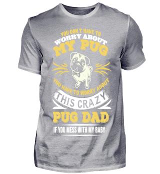 this crazy pug dad