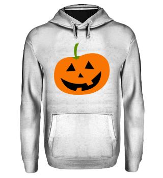 Halloween Hoodie-Kürbis