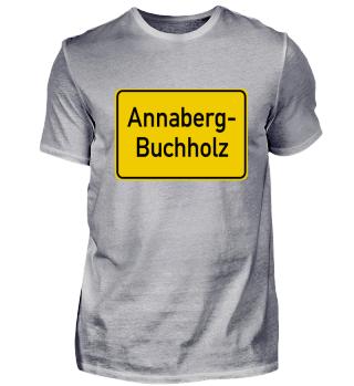 Annaberg-Buchholz Ortsschild