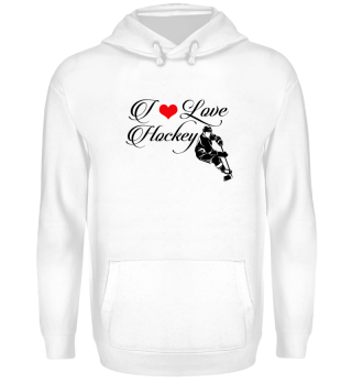 ☛ I LOVE HOCKEY #8SR