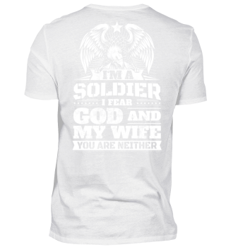 Soldier Gift Husband Funny Hubby Present