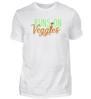 Vegetarians Runs on veggies gift