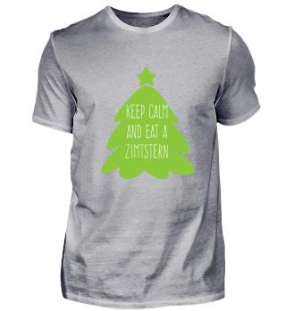 Keep calm and eat a Zimtstern